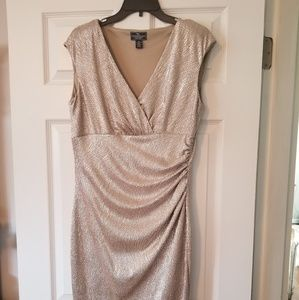 Light Gold Shimmer Dress